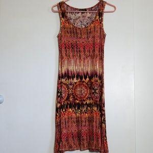 Spense Dresses - Spense Sleeveless Print Summer Dress